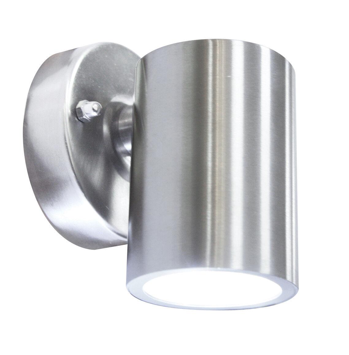 9 X 316 Acero Inoxidable LED de luces de parojo fijo exterior al aire libre 240 V 3 W blancoo Cálido