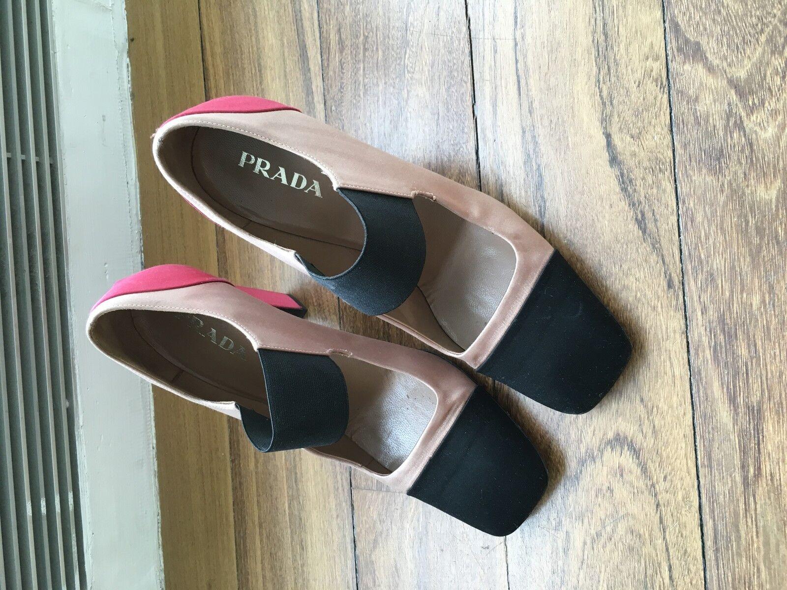 Prada Bombas Zapatos para para para mujer 37.5 EU 7 nosotros  alta calidad