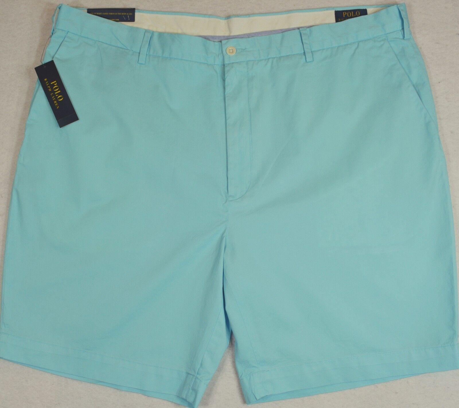 Polo Ralph Lauren Shorts Pima Blend Hammond bluee Classic Fit 9  50 & 52 NWT