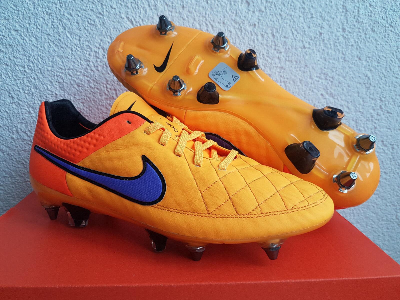 Nuevo nike tiempo legend V sg pro 9 UE 44 magista botas de fútbol botas de fútbol