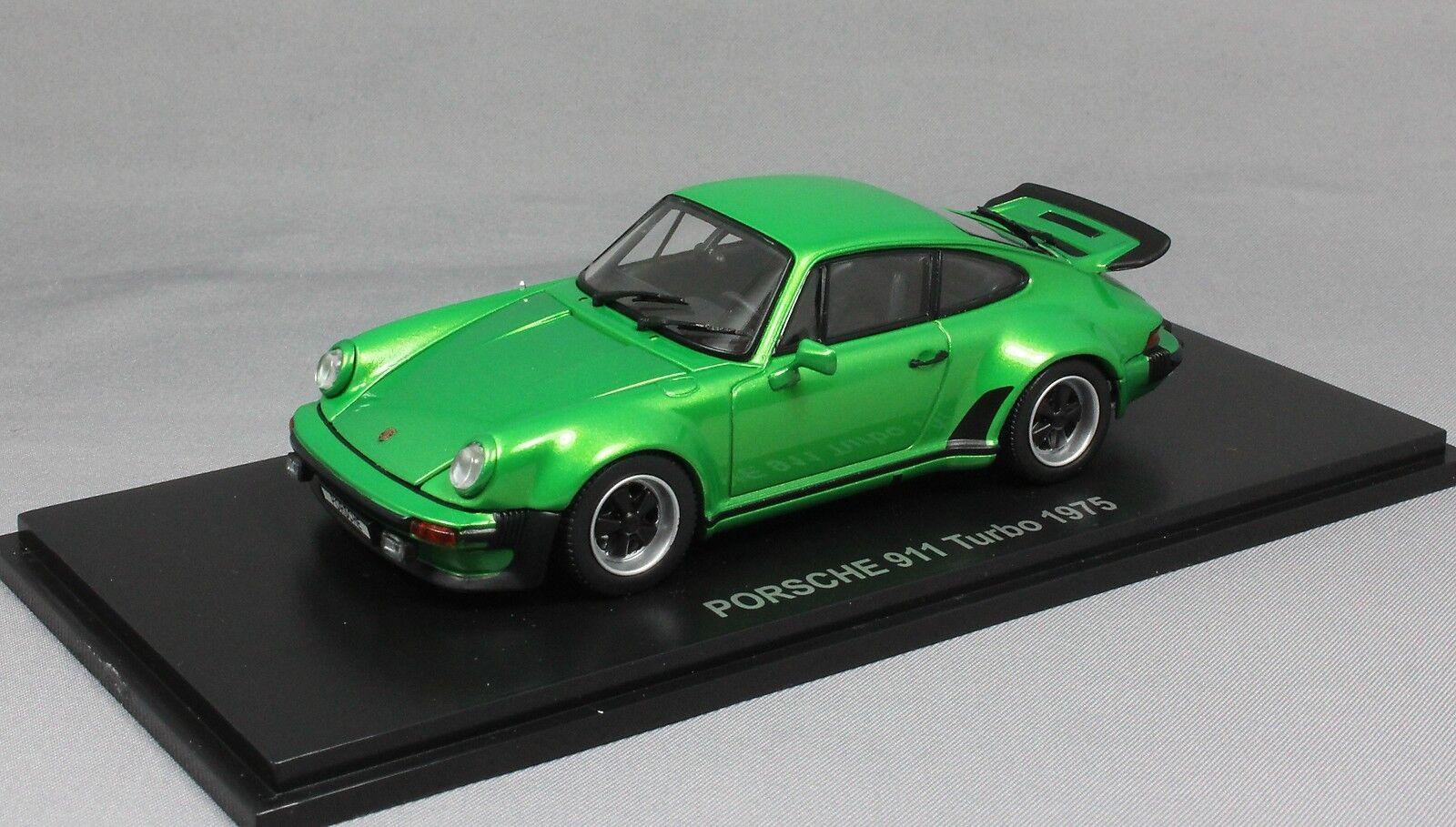 Kyosho Porsche 911 930 Turbo in Green Metallic 1975 05524G 1 43 NEW RRP .99