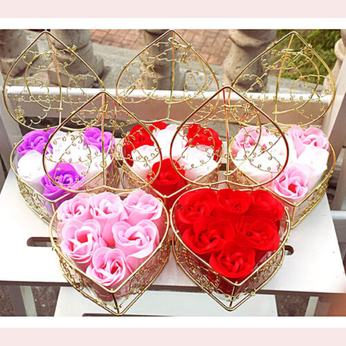 Rose Soap Flower Bouquet Wedding Party Decoration Valentine/'s Day Gift Favor