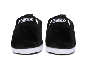 5056943981430d Image is loading Yeezy-Uzzy-Unisex-SoCal-Sneaker-Slippers-Black-White