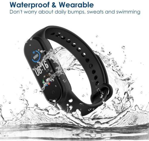 12x Armband Uhrenarmbänder Soft Silikon Ersatz Strap für Xiaomi Mi Smart Band 5
