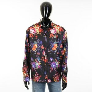 DIOR-HOMME-x-KAWS-1150-Shirt-In-Black-Silk-With-039-Bouquet-De-Fleurs-Dior-039-Print