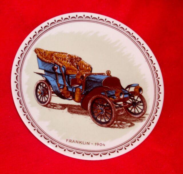 Rare vintage #d FRANKLIN 1904 porcelain wall plate Denmark KESA EF Decor