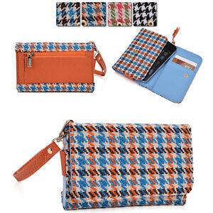 Houndstooth-Protective-Wallet-Case-Clutch-Cover-for-Smart-Phones-ECAMMT-6