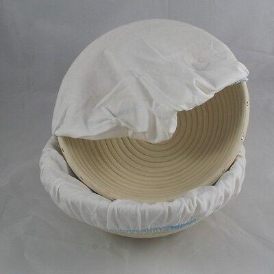 Baumwollbezug für Gärkorb 1 kg rund, hyg. und waschbar