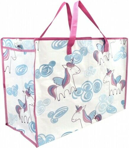Extra Large Jumbo Laundry Shopping Bags Childrens Toy Storage Reusable Bags New