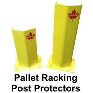Pallet rack post protectors and guards - warehouse safety - warehouse equipment Mississauga / Peel Region Toronto (GTA) Preview