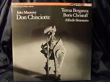 J. Massenet - Don Chisciotte / Simonetto    3 LP-Box