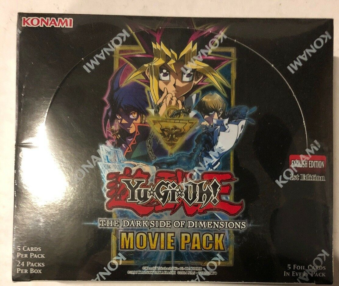 Yugioh Darkside Of Dimensions 1st Edition 24-count Booster Box Card Game TCG