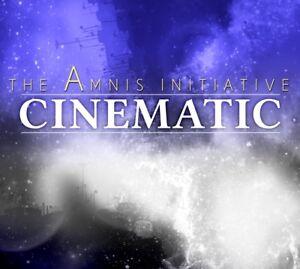 Cinematic-The-Amnis-Initiative-CD-DVD-new-album-5-1-like-Vangelis-Jarre