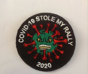 (Virus )Stole My RALLY 2021 Patch Motorcycle PATCH Badge Biker