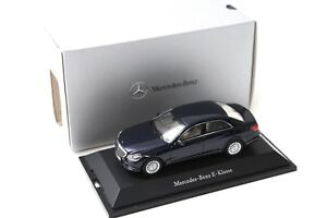 1:43 Kyosho Mercedes E-Klasse Limousine blue DEALER NEW bei PREMIUM-MODELC<wbr/>ARS