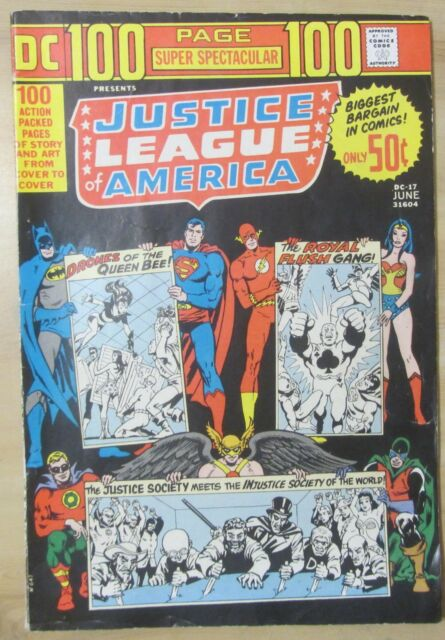 100-Page Super Spectacular #DC-17 (1973) FN 6.0 Justice League of America, JSA