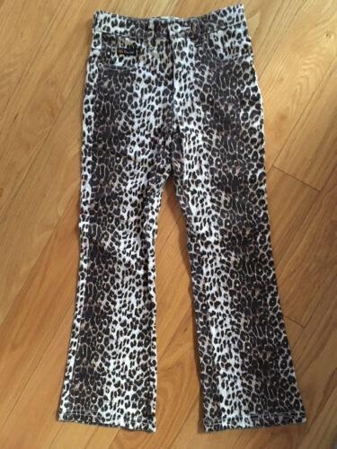 Girls Pants Leopard flat cotton spandex 7 8 10 12 NEW Route 66 Size 8  Capris