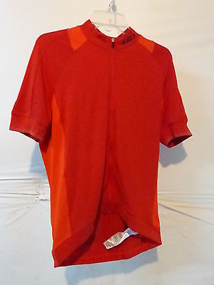 Louis Garneau Lemmon 2 Jersey Men/'s Medium Barbados Cherry Retail $59.99