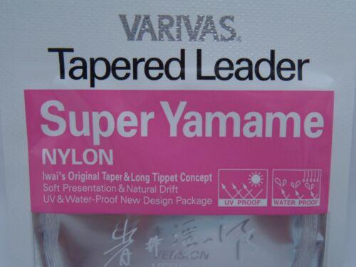 2pks Varivas Morris Co Ltd Fly Brown River Trout Fishing Tapered Leader Tippet