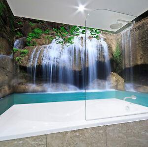 3D Wasserfall 62 Tapete Badezimmer Drucken Abziehbild Mauer Deco AJ ...