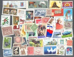 Pologne - 1000 -- Tous Différents Timbres-collection-excellent Range-thématiques-ellent Range-thematics Fr-fr Afficher Le Titre D'origine