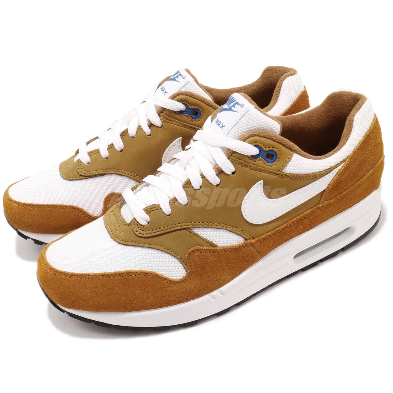 Nike Air Max 1 Premium Retro I Atmos Dark Dark Dark Curry Hommes  Running Shoes 908366-700 1b1918