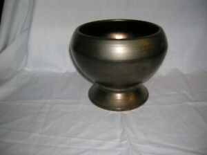 McCoy Pottery USA Copper/ Burnished Brass Glazed Urn / Planter