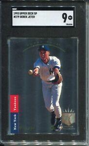 1993-SP-Foil-Baseball-279-Derek-Jeter-Rookie-Card-RC-Graded-SGC-Mint-9-Yankees