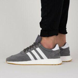 Adidas-Originals-Iniki-Runner-Core-Grey-Gum-Mens-Boost-Trainers-Size-UK-8-8-5-9