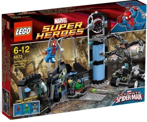 LEGO® SH 6873 Spider Man Labor Doctor Ock NEU OVP Serie 6869 6868 6867 6866 6865
