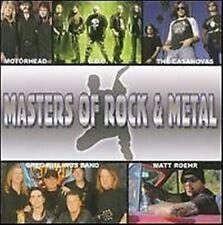 Masters of Rock & Metal u.a Motörhead, U.D.O, Casanovas, Greg Billings Band CD