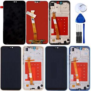 Para-Huawei-P20-Lite-Pantalla-LCD-Tactil-Screen-Digitizador-Asamblea-Marco-Nuevo