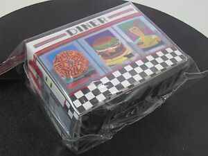 DINER-SIDELOAD-DECK-BOX-ULTRA-PRO-CARD-BOX-FOR-MTG-POKEMON-CARDS