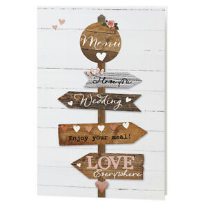 Noblik 24 Stucke Draht Karten Halter Metall Karten Halter Hochzeit