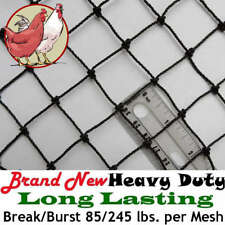 Poultry Netting 6 X 150 1 Heavy Knotted Aviary Anti Bird Net Protection Nets
