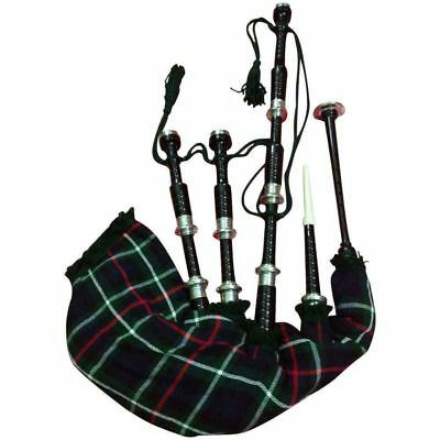 HM HIGHLAND BAGPIPES NATURAL ROSEWOOD PLAY ABLE//ROSE WOOD BAGPIPES FULL SIZE