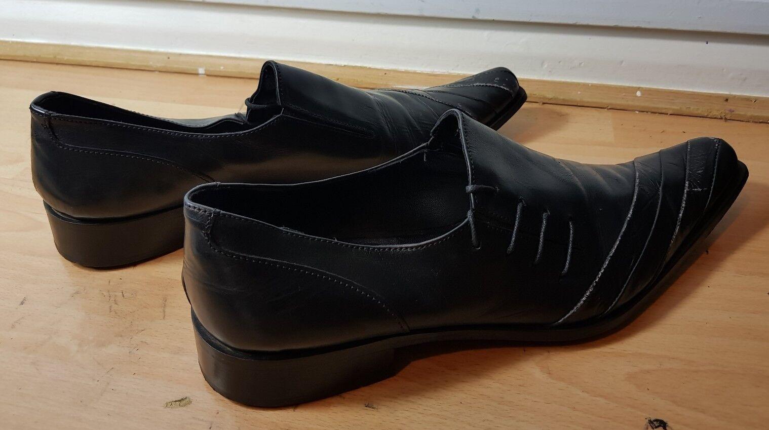 c1a01fdcb0 ... Zapatos de cuero le bottier depuis Diseñador Vestido Formal Formal  Formal todos los negro tamaño de ...