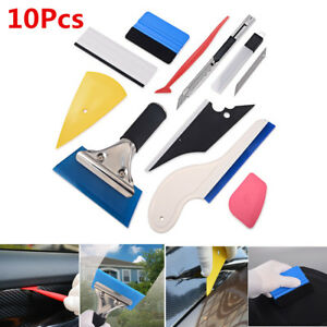 Useful 9 in 1 Window Film Tools Squeegee Scraper Set Kit Car Home Tint /& Durable