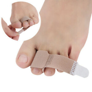 5-10Pcs-Broken-Hammer-Toe-Straightener-Splints-Brace-Corrector-Wraps-Bandage-CAL