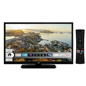 Bush ELED24HDS 24 Inch HD Ready Smart Led TV With Built in Wi-Fi - Black