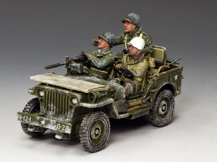King and Country The Winter Jeep BBA0084