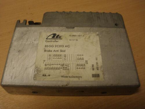ABS ECU Ford Sierra Granada Scorpio 2wd 1986-88 85GG2C013AC 1650632