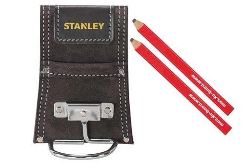 2 tendance Charpentiers Crayons Stanley Parasurtenseur 1-80117 Marteau Titulaire Daim Finition