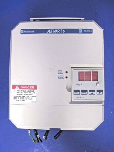Telemecanique Square D ATV16U41N4 Altivar 16 Drive Controller 3HP// 2.2kW Used