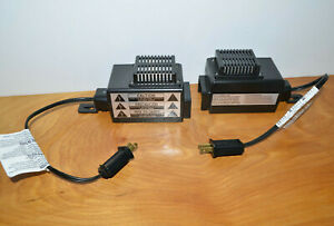MR-CHRISTMAS-WIRELESS-LIGHTS-amp-SOUNDS-RECEIVER-LOT-3-AND-4-PARTS-UNTESTED