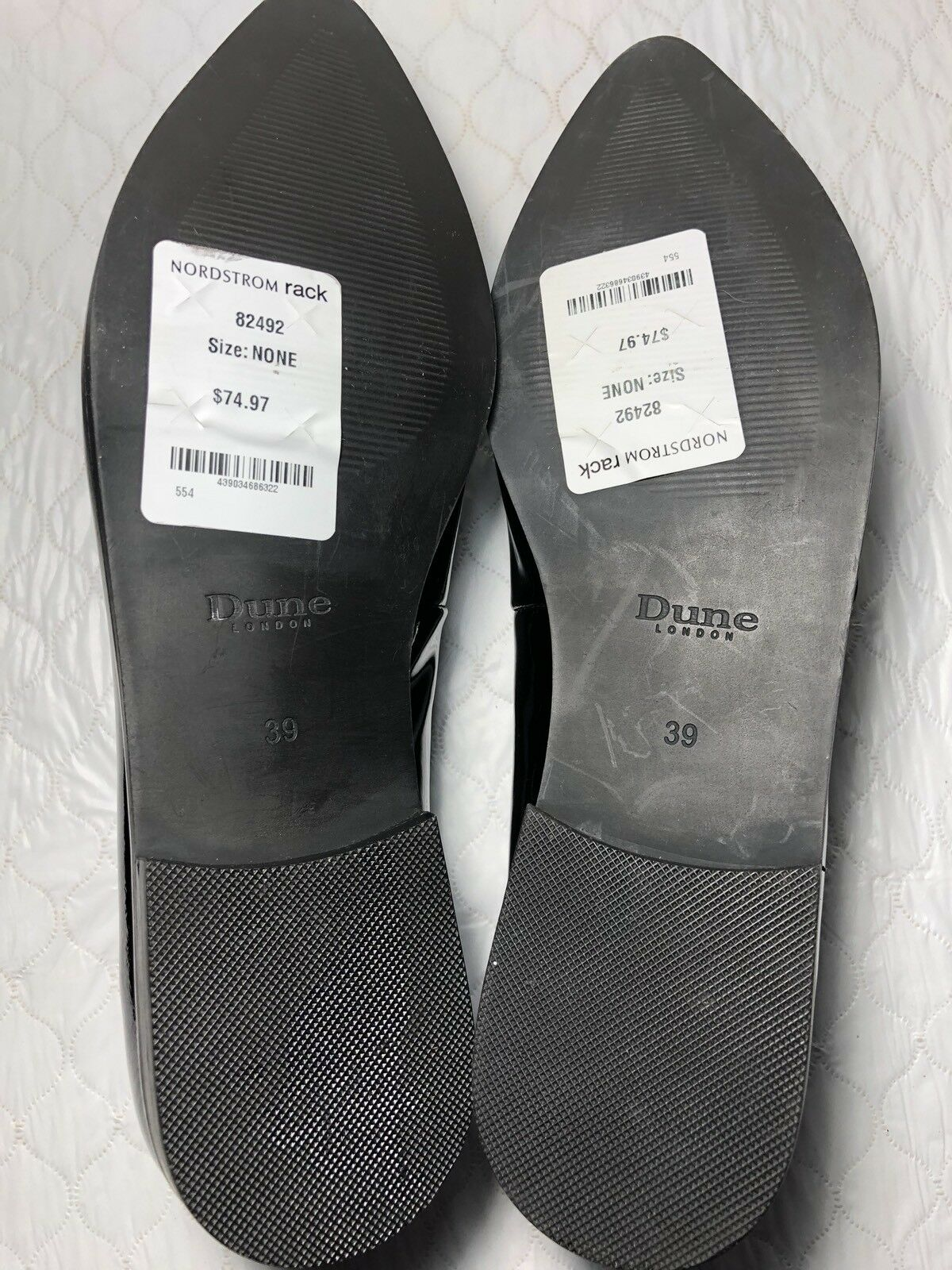 Dune London Mules Mules Mules Women's shoes Size-8M 15504b