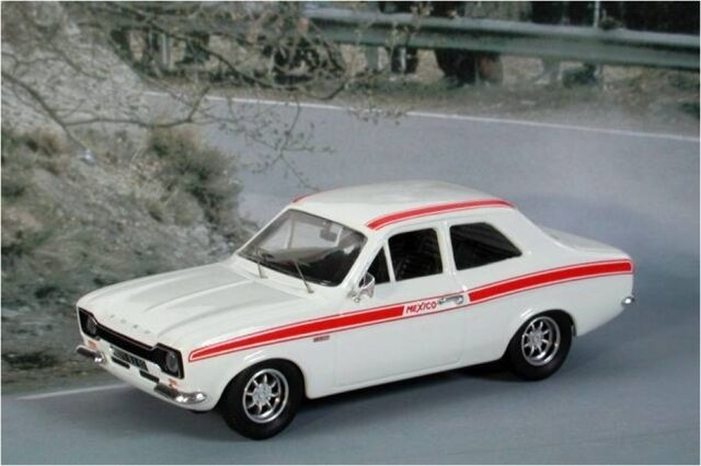 TROFLHD & 507RHD FORD ESCORT Mk.I MEXICO model road car white 1 43rd