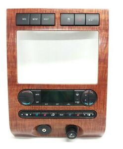 04 05 06 07 08 Ford F150 F-150 AC Heater Digital Climate Control Dash Bezel OEM