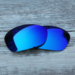 896c22554ddcb Image is loading Ice-Blue-Polarized-replacement-Lenses-For-Oakley-Straight-