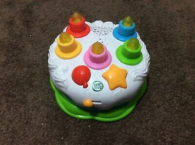 Excellent Leap Frog Birthday Cake Musical Lights Sounds Counting Candles Personalised Birthday Cards Epsylily Jamesorg
